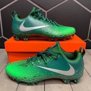 Nike Vapor Untouchable Pro Silver Green Cleats